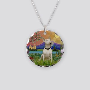 Fantasy Land/Bull T Necklace Circle Charm