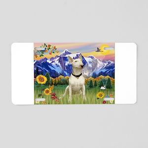 Mt Country/Bull Terrier Aluminum License Plate