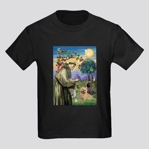 St. Francis Cairn Kids Dark T-Shirt