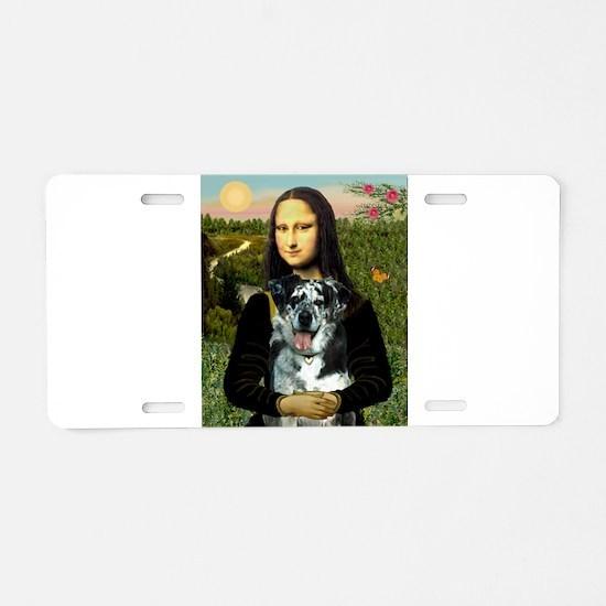 Mona /Catahoula Aluminum License Plate