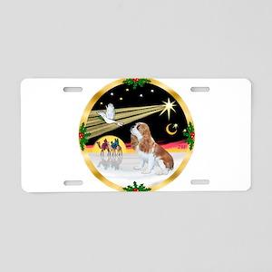 Wisemen/Cavalier #F1 Aluminum License Plate