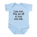 I am root Infant Bodysuit