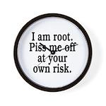 I am root Wall Clock