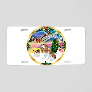 XmasMagic/Cavalier F1 Aluminum License Plate