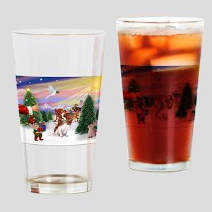 Treat/Cavalier (BL) Drinking Glass