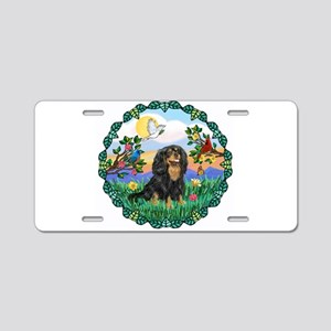 Wreath-Bright Life - CKC10 Aluminum License Plate