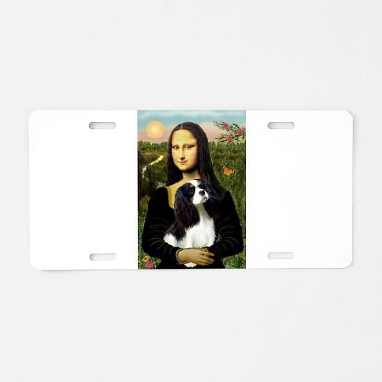 Mona's Tri Cavalier Aluminum License Plate