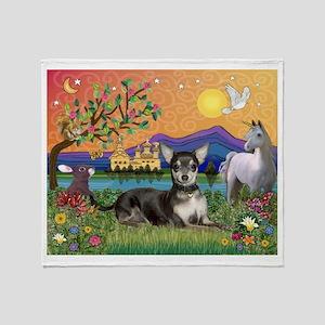 Fantasy Chihuahua (BT) Throw Blanket