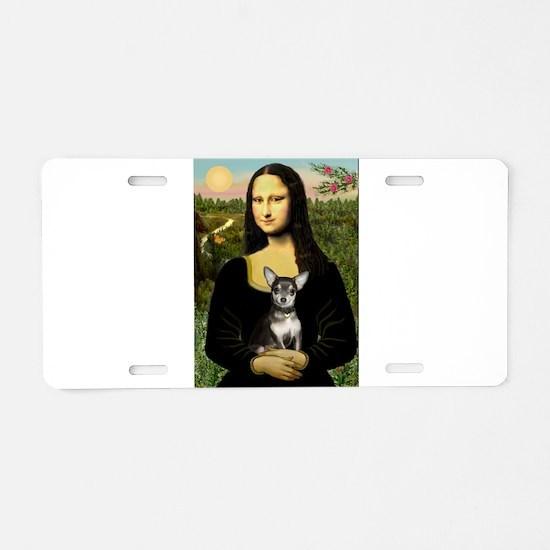 Mona's Chihuahua (BT) Aluminum License Plate