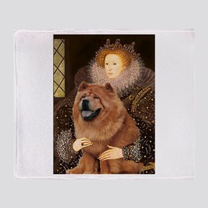 Queen/Chow Chow Throw Blanket