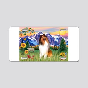 Mt Country / Collie (s) Aluminum License Plate