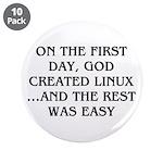 God created Linux 3.5