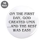 God created UNIX 3.5