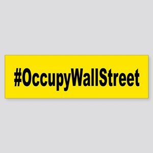 Occupy Wall Street: Sticker (Bumper)