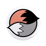 """Tails 3.5"""" Button (100 pack)"""