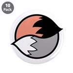 """Tails 3.5"""" Button (10 pack)"""