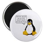 Never trust an OS Magnet