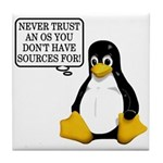Never trust an OS Tile Coaster