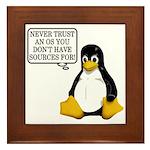 Never trust an OS Framed Tile