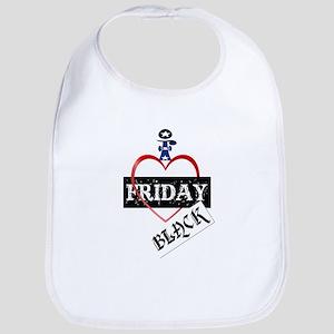 I Love Black Friday Bib