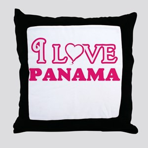 I love Panama Throw Pillow