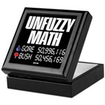 UNFUZZY MATH Keepsake Box