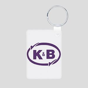 K&B Drugs Double Check Aluminum Photo Keychain