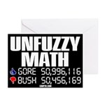 UNFUZZY MATH Greeting Cards (Box of 6)