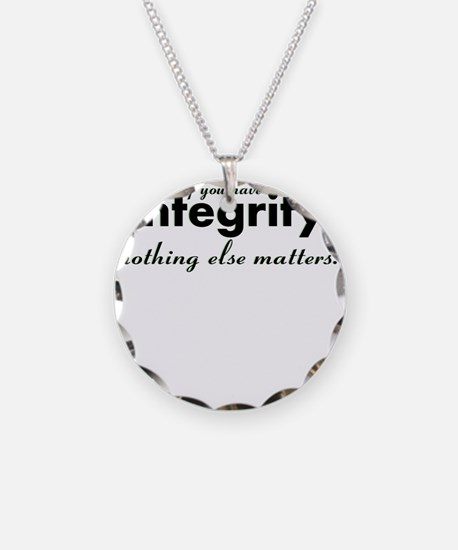 Cute Integrity Necklace