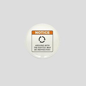 Baptist / Argue Mini Button