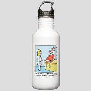 Time for Santas Diet Stainless Water Bottle 1.0L