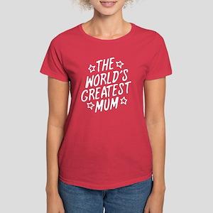 The World's Greatest Mum Women's Dark T-Shirt
