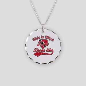 Looks like Trinidadian Necklace Circle Charm