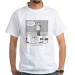 Ghost Comedian White T-Shirt