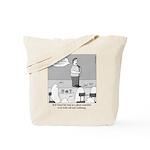 Ghost Comedian Tote Bag