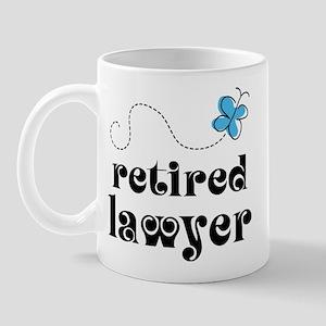 Retired Lawyer Gift Mug