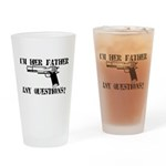 I'm Her Father, Any Questions? Drinking Glass