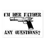 I'm Her Father, Any Questions? Postcards (Package