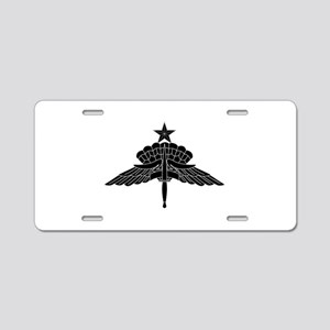 HALO Senior Aluminum License Plate
