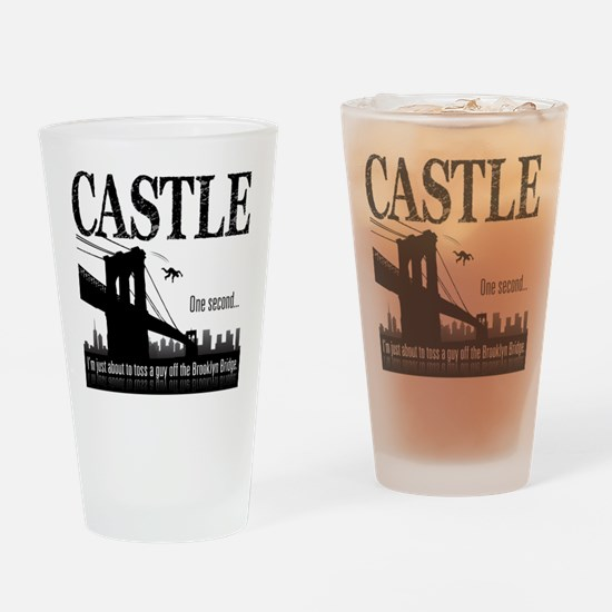 Castle Bridge Toss Drinking Glass