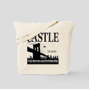 Castle Bridge Toss Tote Bag