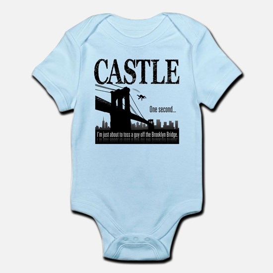 Castle Bridge Toss Infant Bodysuit