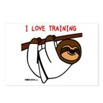 I Love Training: Sloth Postcards (Package of 8)