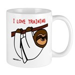 I Love Training: Sloth Mug