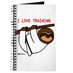 I Love Training: Sloth Journal