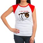 I Love Training: Sloth Women's Cap Sleeve T-Shirt