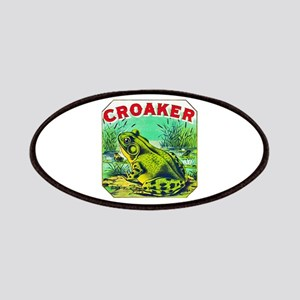 Croaker Frog Cigar Label Patches