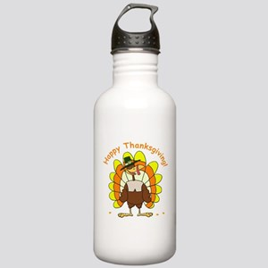 Candy Corn Turkey Stainless Water Bottle 1.0L