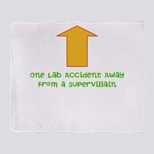Lab Accident Throw Blanket