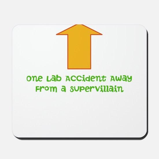 Lab Accident Mousepad